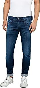 Replay Herren Anbass Hyperflex Clouds Slim Jeans