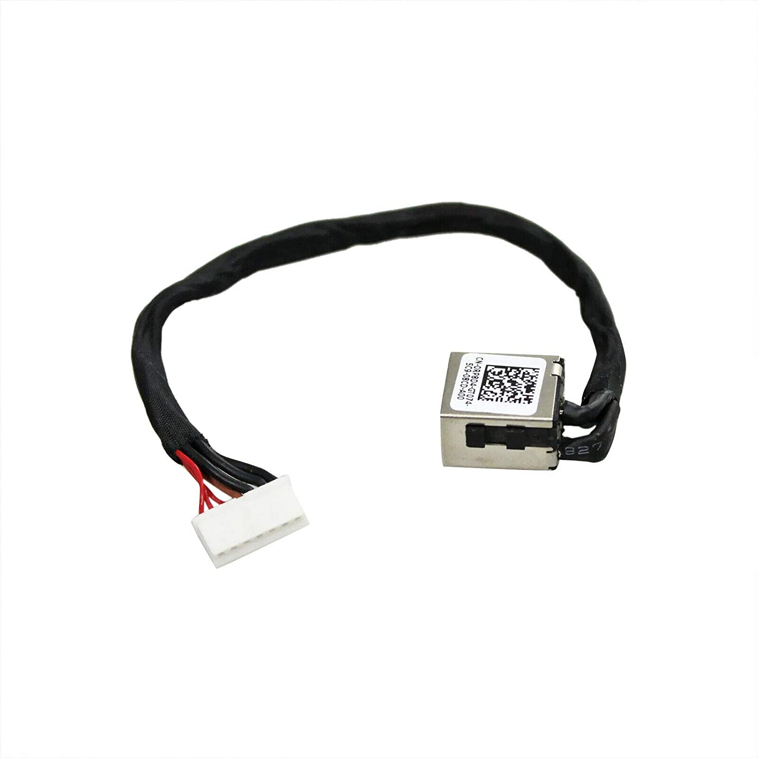Huasheng Suda DC Power Jack Cable Replacement for DELL Inspiron 15 7566 15 7567 15 7556 i7566 i7567 P65F P65F001 P65F002 D18KH 0D18KH OD18KH