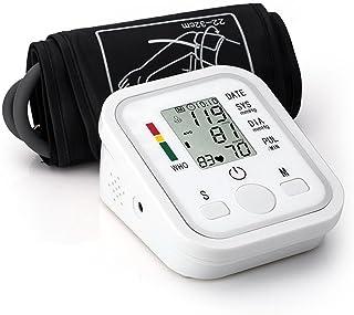 MYT Esfigmomanómetro de brazo superior, pantalla LCD de fácil lectura y almacenamiento y almacenamiento de