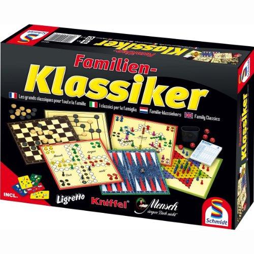 Spielesammlung Familienklassiker von Schmidt-Spiele - ab 6 Jahren