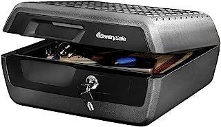 SentrySafe CHW30220 Fireproof Box and Waterproof Box with Key Lock 0.36 Cubic Feet