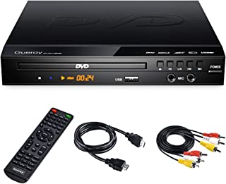 DVD Player Region Free DVD Player for TV, Upgraded CD DVD Disc Player with Remote Control, HDMI-Compatible/Full HD 1080p/A...