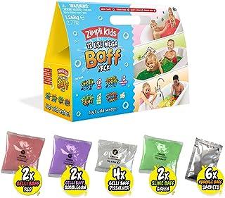12 Use Mega Value Baff Pack from Zimpli Kids, 4 x Gelli Baff, 2 x Slime Baff & 6 x Crackle Baff, Children's Value Christma...