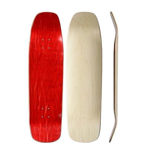 Shaped Skateboard Deck: Amazon com