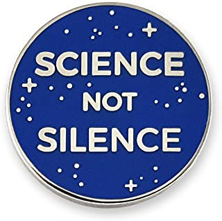 Pinsanity Science Not Silence Enamel Lapel Pin