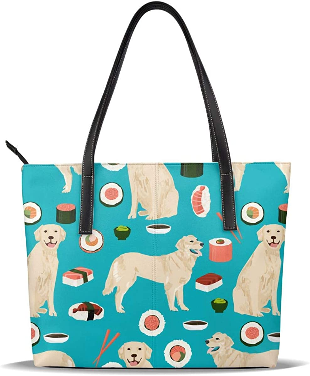 free shipping Cute Sushi Japanese Best Lab Dog lowest price Printed Rice Leather Roller PU