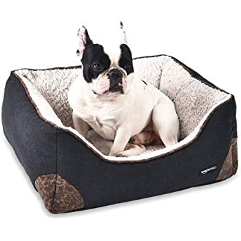 Amazon Com Anwa Durable Dog Bed Machine Washable Small Dog Bed Square Comfortable Puppy Dog Bed Small Pet Supplies