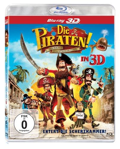 Die Piraten - Ein Haufen merkwürdiger Typen (3D-Version) [3D Blu-ray]