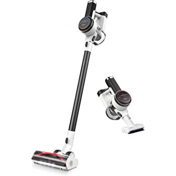 Tineco Pure ONE S12 Smart Cordless Stick Vacuum Cleaner, Optimized Ultra Powerful Suction & Long Runtimes, Excellent for Multi-Surface & Pet Hair Cleaning, Matte Black