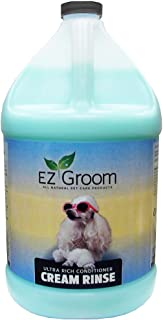 EZ Groom Ultra Rich Conditioner Cream Rinse Gallon - Concentrated