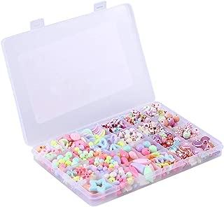 500pcs Grid Educational Beads Set Handmade DIY Bracelets Necklace Making Kits for Kids  Spring Blossoms