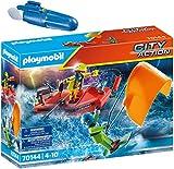 City Action Playmobil 70144 5159 - Juego de rescate con barco y motor subacuático