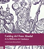 Catàleg fons Abadal Biblioteca