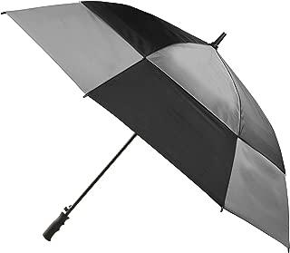 Totes Umbrella NeverWet technology Stormbeater Vented Auto Open Golf Umbrella, Opens to 60