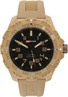 Isobrite ISO304 Valor Series Tan/Black T100 Tritium Watch