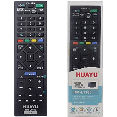 Works with Mostly Sony televisions Black Ideal TV Replacement ...