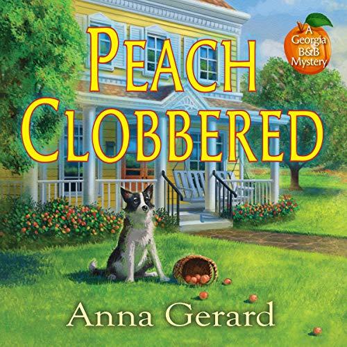 Peach Clobbered audiobook cover art