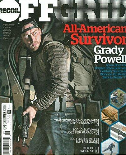 Recoil Off Grid Magazine Issue 20 - 2017 All American Survivor