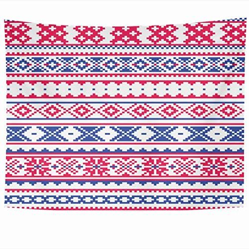 Wandbehänge Wandteppiche Geometrische Lappland Ornate Landers Auf Kleidung Traditionelles Volk Finnisches Design Sami Einzigartige Texturen Wandteppich Wanddecke Wohnkultur Wohnzimmer Schlafzimmer Woh