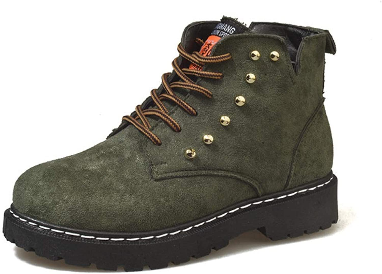 Womens Winter Flat Ankle Boots Trainer Lace Up Casual Boots Fur Lined Grip Sole Walking Hiking shoes Size Comfortable Keep Warm