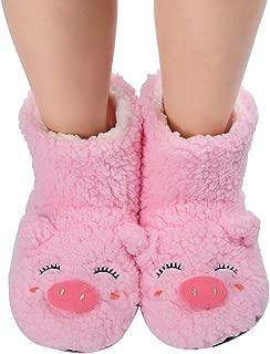 Secret Treasures Slippers Sock Penguin Bear Warm Soft Womens Size Large 9 10 11