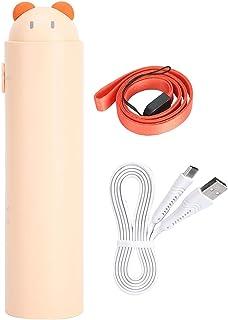 Socobeta Power Bank Fan Mini Telescopische USB Oplaadbaar voor Thuis Reizen (Beige, Pisa Scheve Toren Type)