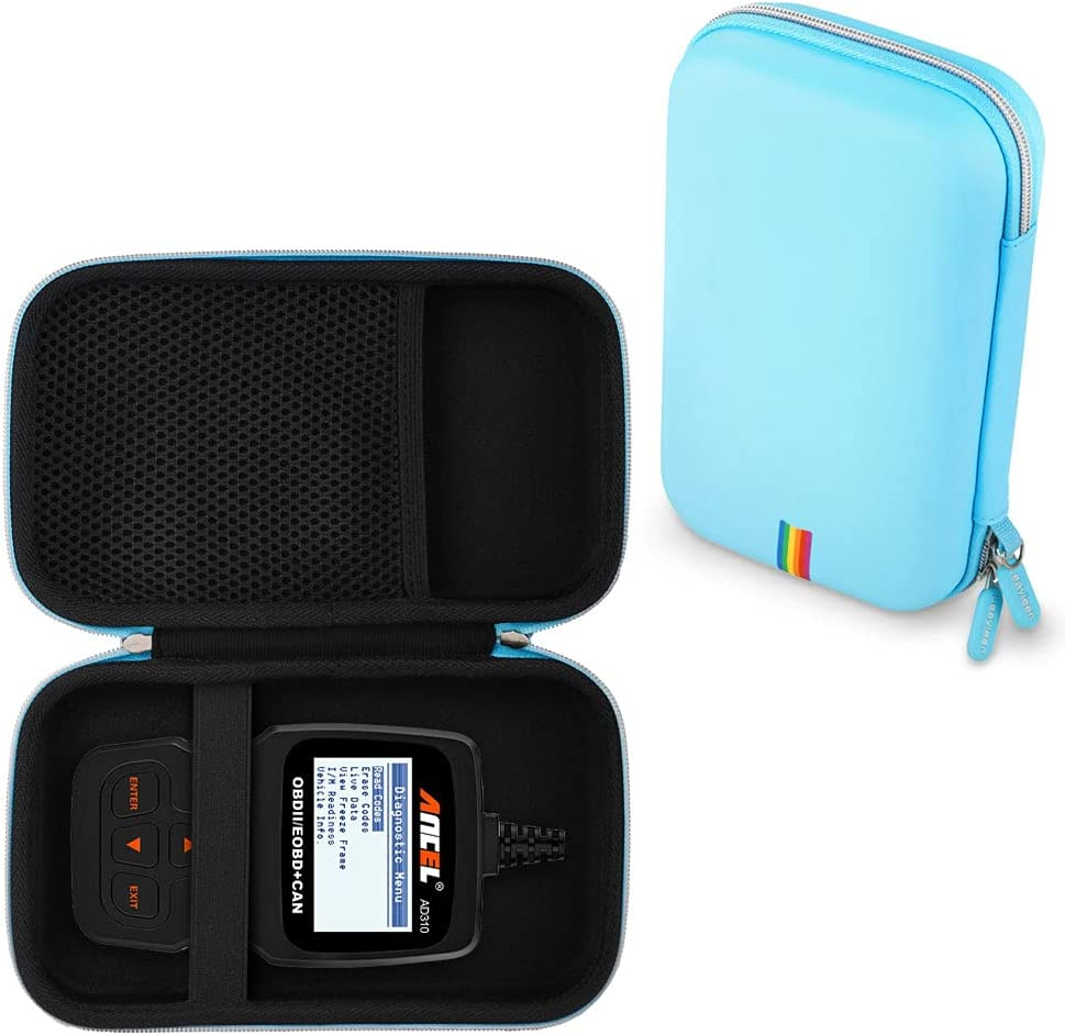 Leayjeen Car Scanner Case Compatible with Ancel AD310 Classic Enhanced Universal OBD II Scanner Car Engine (Case Only)