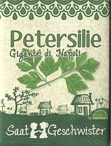 "Die Stadtgärtner Petersilie""Gigante di Napoli""-Saatgut   Knackiger europäischer Klassiker   Samen für 80 Pflanzen"
