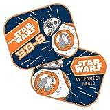 Disney 9315 Cortinas Parasol BB8 Star Wars, Azul