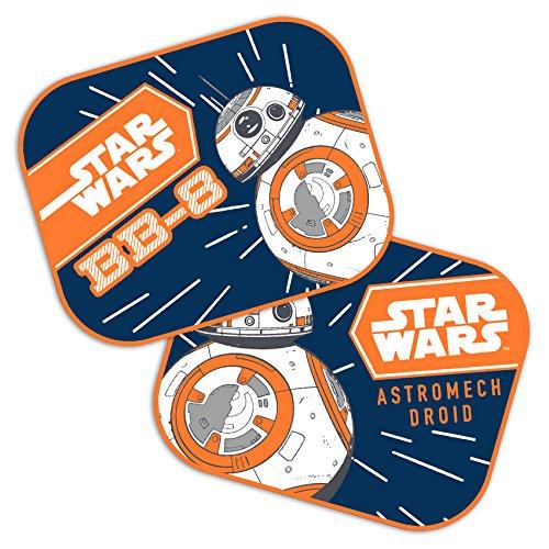 2 x Voiture Pare-soleil Disney Star Wars BB-8 44 x 35 cm