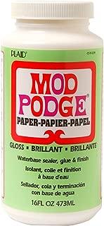 Mod Podge Gloss CS11239 Paper Finish-16oz, 16 Ounce