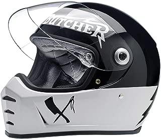 Biltwell Lane Splitter Helmet - Rusty Butcher (Medium)