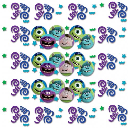 Disney Amscan International Monsters University Lot de 3 confettis