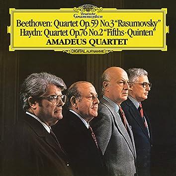 "Beethoven: String Quartet In C, Op.59 No.3 - ""Rasumovsky No. 3"" / Haydn: String Quartet In D Minor, Hob. III:76  (Op.76 No.2 - ""Fifths"") (Live)"