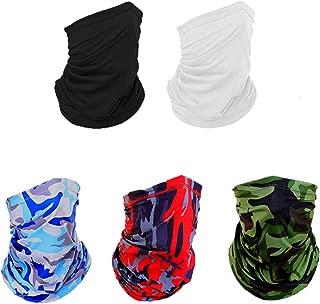 Face Mask Neck Gaiter, Neck Gaiter Tube Scarf Mask Headwear, Unisex Headband Face Mask