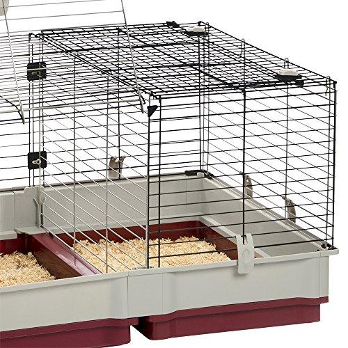 Ferplast CAGE KROLIK 160 Rabbit Cage, 68-Inch