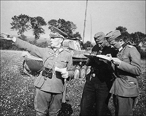 German General Erwin Rommel WWII 11x14 Silver Halide Photo Print