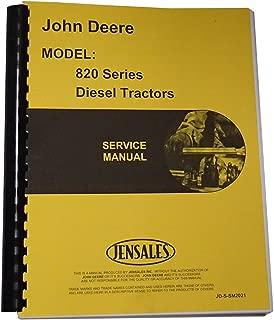 Service Manual for John Deere 820 840 Tractor (Diesel)