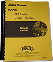 Service Manual for John Deere 820 840 Tractor (Diesel)
