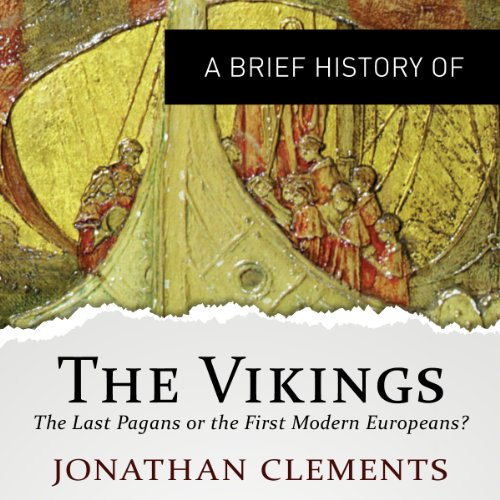 A Brief History of the Vikings audiobook cover art