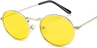 Sunglasses Gafas de Sol de Moda Gafas De Sol Ovaladas Pequeñas para Mujeres Y Hombres, Gafas De Sol De Diseñador De Marc