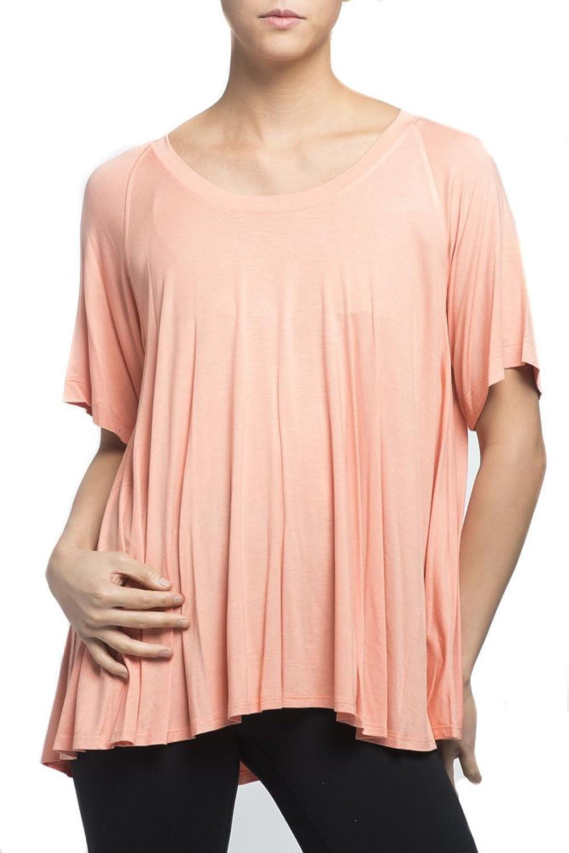 Nally & Millie Women's Raglan Sleeve Flared Top