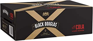 Black Douglas Scotch and Cola Blended Whisky 4 Pack of 6 Cans, 375 ml (Pack Of 24)