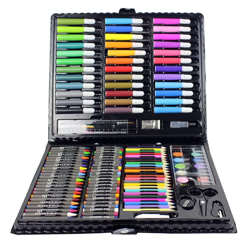 150 piezas de arte infantil para niños Regalos para pintar Cuadros para dibujar herramientas Color del