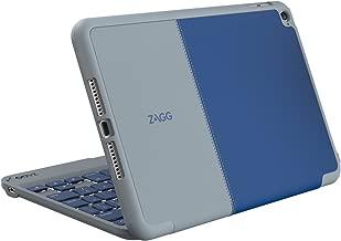 ZAGG Folio Case, Hinged Bluetooth Keyboard for iPad mini 4 - Blue