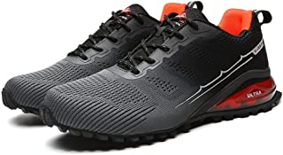 Aerlan Performance Shoes Lightweight Trainers,Male outdoor running casual shoes, men's shoes hiking shoes hiking shoes-Gra...