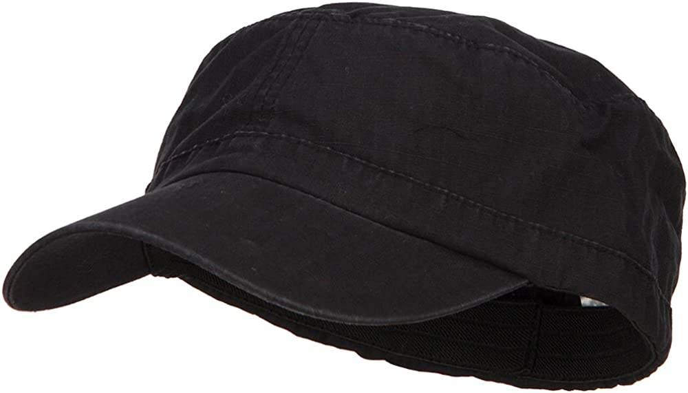 e4Hats.com Big Size Fitted Ripstop Cap Military 25% OFF Army Cotton famous