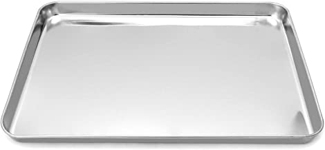 QWORK Stainless Steel Surgical Tray, for Medical Instruments, Tattoo, Surgical Supplies, 15 3/4