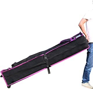 ABCCANOPY Honor Canopy Roller Bag for Pop Up Canopy Tent, Wheeled Storage Bag for 10 x 15 Canopy (Purple)