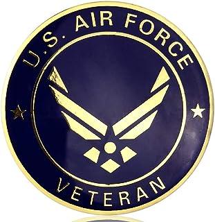 JYG U.S. Air Force Military Car Emblem Military Veteran Metal Car Badge Auto Decal